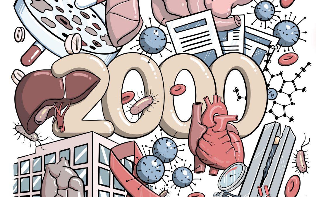 20 Jahre Medizin & PR: Ein Blick ins Gründungsjahr 2000